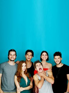 Everyone looks serious and then theres Dylan