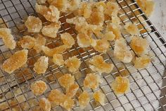 Candied citron is a traditional addition to panforte & other confections. A simple recipe from pastry chef David Lebovitz. Sweets Recipes, Real Food Recipes, Snack Recipes, Cooking Recipes, Candy Recipes, Food Tips, Food Hacks, Bread Recipes, Grapefruit Recipes