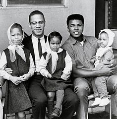 This is the greatest picture with two great men. Malcom X & Young Muhammad Ali