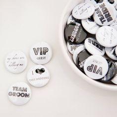 pack of 50 wedding favour badges by twenty-seven   notonthehighstreet.com