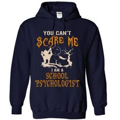 Halloween Shirt For School-Psychologist - #teacher gift #sister gift. LIMITED AVAILABILITY => https://www.sunfrog.com/No-Category/Halloween-Shirt-For-School-Psychologist-3357-NavyBlue-Hoodie.html?68278