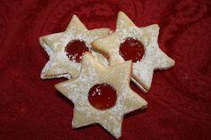 Linecké Cukroví - Jelly filled cookies