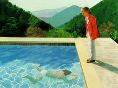 David Hockney | Portrait of an artist | 1972