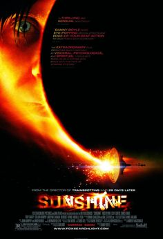 Sunshine , starring Cillian Murphy, Rose Byrne, Chris Evans, Michelle Yeoh. A team of astronauts are sent to re-ignite the dying sun 50 years into the future. #Adventure #Sci-Fi #Thriller