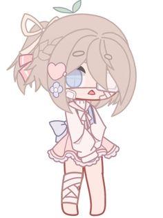 Pls do not copy or steal (ง •`_´•)ง Character Outfits, Cute Anime Character, Kawaii Art, Kawaii Anime, Anime Girl Dress, Club Hairstyles, Pony Drawing, Anime Gifts, Club Design