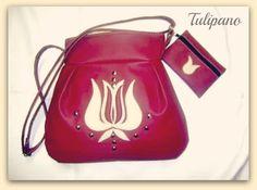 Bordó elegancia bézs táska nagytulipánnal+ajándék pénzárca Leather Backpack, Bucket Bag, Backpacks, Bags, Fashion, Elegant, Handbags, Moda, Leather Backpacks