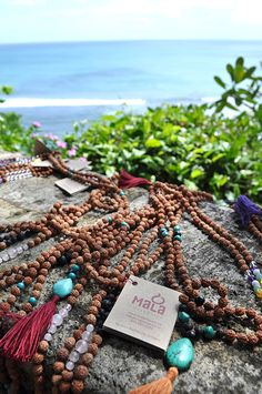 Connect with your perfect mala beads // Mala Collective - Mala Beads from Bali. #malabeads #yoga #meditation