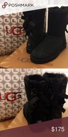 Bailey Bow Ugg Boots Like new only worn 3 times UGG Shoes Winter & Rain Boots