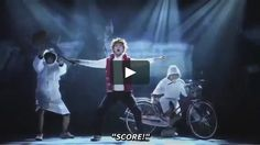 The subbed performance of the Haikyuu!! stage play:  Hyper Projection Performance: View of the Summit