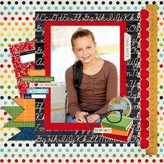 Layout: New Smarty Pants - Simple Stories