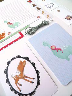 Nikki Dotti voor alle hippe post en vrolijke snailmail #stationery @Nikki Dotti