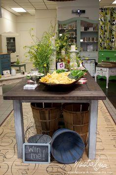 Nostalgia - farm table Nostalgia home decor furniture in georgia