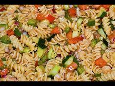 Italian Dressing Pasta Salad - Healthy Dish How to Make Pasta Salad - YouTube