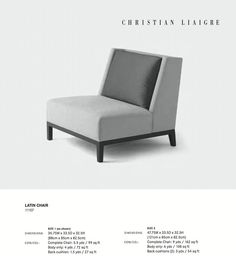 CL Latin Chair