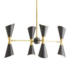 Large Chandeliers - Other Luxury Chandelier, Linear Chandelier, Black Chandelier, Luxury Lighting, Pendant Chandelier, Cool Lighting, Chandelier Lighting, Lighting Design, Modern Brass Chandelier