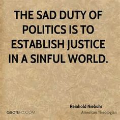 Reinhold Niebuhr Politics Quotes | QuoteHD