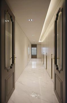 House Ceiling Design, Ceiling Light Design, Floor Design, House Design, Lobby Interior, Apartment Interior, Apartment Design, Bedroom Cupboard Designs, Living Room Designs
