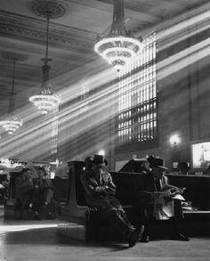 Pennsylvania Station, 1959, Kees Scherer. Dutch (1920 - 1993)