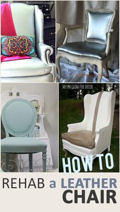 How to Rehab a Leather Chair
