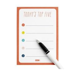 TOP 5 PRIORITY LIST: