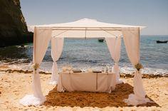 Wedding Album, Wedding Planner, Beautiful Ocean, Wedding Arrangements, Outdoor Furniture, Outdoor Decor, Luxury Wedding, Gazebo, Outdoor Structures