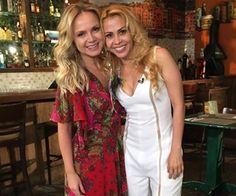 Eliana faz passeio por São Paulo com a cantora Joelma neste domingo