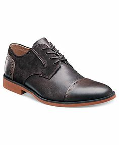 Stacy Adams Dumont Cap Toe Shoes - Lace-Ups & Oxfords - Men - Macy's