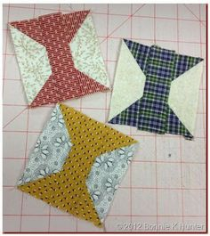 "Quiltville's Quips & Snips!!: Spoolin' Around Leader/Ender Challenge!// can also do 2"" x 5"" rectangles and 2"" squares"