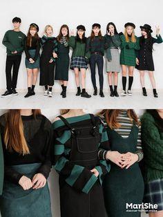 korean fashion trends that looks stunning! Korean Fashion Trends, Korean Street Fashion, Korea Fashion, Asian Fashion, Look Fashion, Girl Fashion, Fashion Outfits, Womens Fashion, Fashion Design