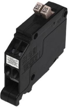 Murray 15/20 Amp Single Pole Tandem Type MH-T Plug-In
