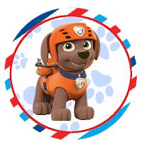 a Topper, Paw Patrol, 1, Fictional Characters, Personalized Candy, Mug, Glow, Kids Part, Parties
