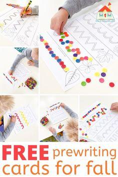 Writing Center Preschool, Writing Activities For Preschoolers, Motor Activities, Preschool Lesson Plans, Free Preschool, Preschool Themes, Stages Of Writing, Pre Writing, Teaching Patterns