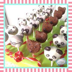 Viele Bärchen und die Dompteurin  #cakepops #sandybel #kuchen #cupcakes #nürnberg #fürth #sweets #backen #grizzly #waschbär #pandabär #eisbär #dompteur