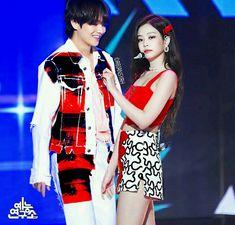 Kpop Couples, Cute Couples, K Pop, Stefan William, Bts Twice, Otp, Bts Maknae Line, Blackpink And Bts, Korean Couple