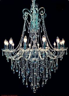 41 Fabulous Chandelier You Can Try. A room with a chandelier it's always more impressive than not. The chandelier always stands out and makes the person walking into the room where it is hung stand . Blue Chandelier, Chandelier Bedroom, Bedroom Lighting, Chandelier Lighting, Crystal Chandeliers, Empire Chandelier, Antique Chandelier, Office Lighting, Crystal Bedroom
