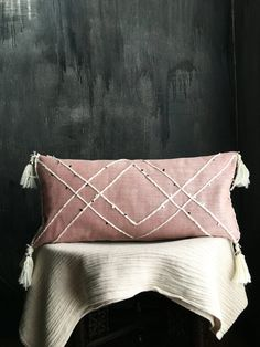 Moroccan Inspired Lumbar Pillowcase Pillowcover by TaisaSilecky