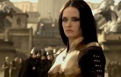 "Eva Green as Artemisia in ""300: Rise of an Empire."""