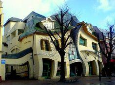 La casa Torcida de Polonia