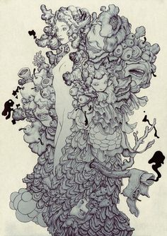 james jean drawing - Buscar con Google