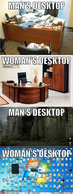 Can we please stop it with the gender stereotypes? They're really getting old... According to this meme, I'm a man...