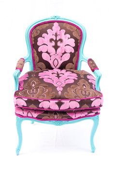 "Fabulously Bold, Recycled ""Divine"" Chairs By Kitty McBride"