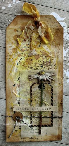 Riikka Kovasin - Paperiliitin: Plant tags - GDT Um Wow Studio