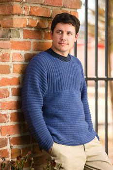 Father pullover crochet pattern red heart sweaters tops crochet patterns articles ebooks magazines videos fandeluxe Gallery