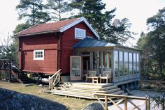 uterum Pretty Room, Cottage Homes, Country Style, Pergola, Shed, Home And Garden, Backyard, Outdoor Structures, Cabin