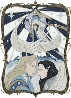 Elwing and Eärendil by wavesheep
