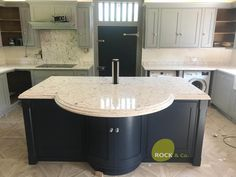 Bianco Foresta - Chipping Ongar, Essex - Rock and Co Granite Ltd Engineered Stone, Handmade Kitchens, Granite, Marble, Stones, Traditional, Design, Home Decor, Rocks