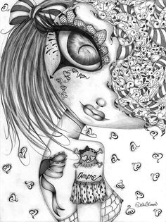 Lowbrow Art Company Amore - Canvas Giclee - This is a gallery wrapped canvas print that comes on a stretcher bar & is ready to hang. Colouring Pics, Coloring Book Pages, Fairy Coloring, Free Coloring, Lowbrow Art, Fairy Art, Photo Canvas, Skull Art, Cute Art