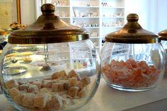 Türkische Süßigkeiten in der Confiserie Orientale