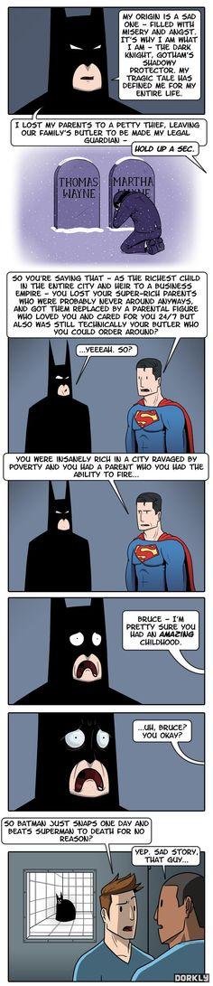 Los auténticos orígenes de Batman