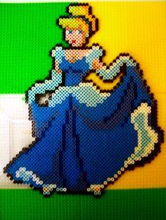 Cinderella Disney hama perler beads